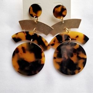 Animal Print Earring